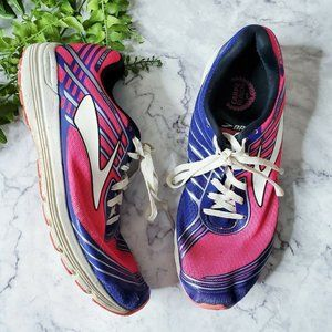 Brooks Asteria Hot Pink & Blue Running Sneakers